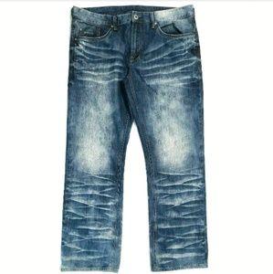 Buffalo David Bitton Jeans Six Basic Slim Straight